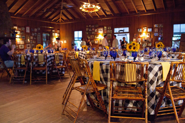Denim And Diamonds A Southern Bbq Rehearsal Dinner The